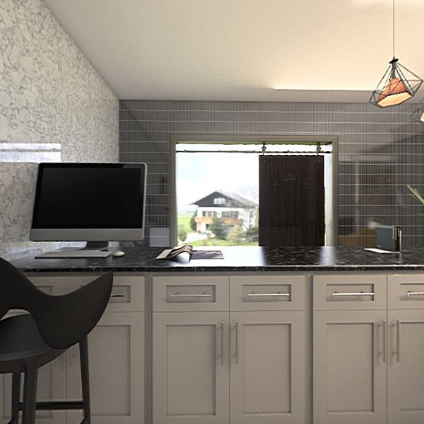 recrutment office Interior Design Render