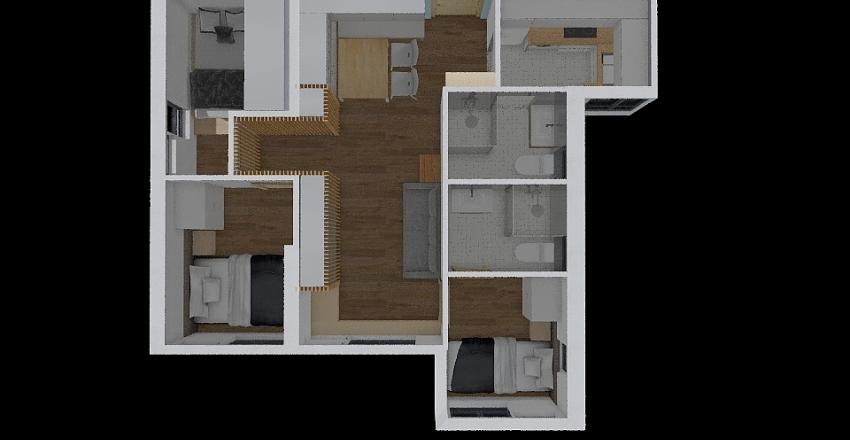 Kwun Tak Court - Opt B Interior Design Render