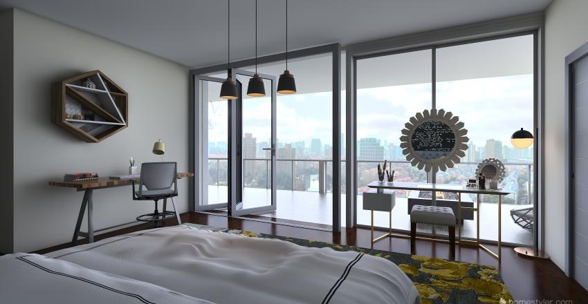 SUMMIT NYC Interior Design Render