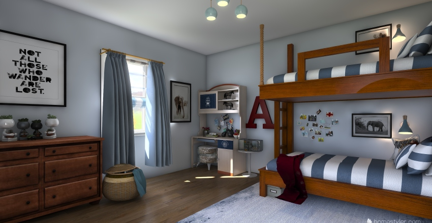 Ardyn's Room Interior Design Render