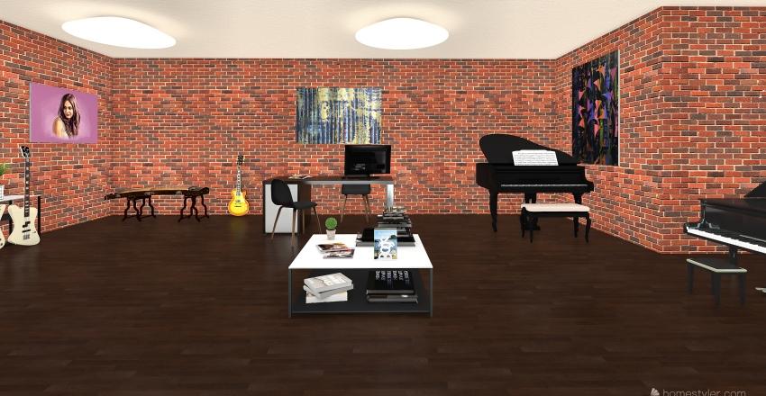 magaz Interior Design Render
