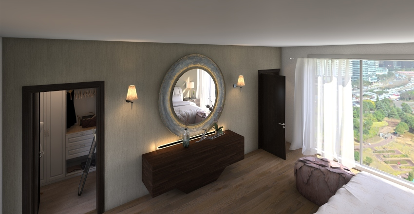 My Dream Bedroom Interior Design Render