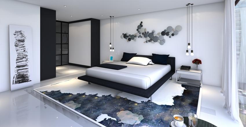 simple love Interior Design Render
