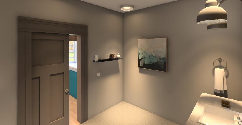Bailey's Room Interior Design Render