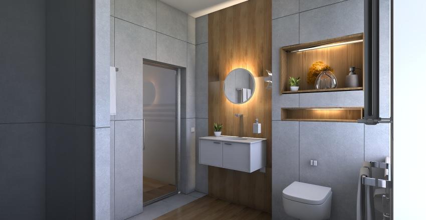 1 этаж (новая кухня) Interior Design Render
