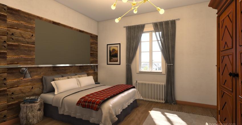 carona rossi Interior Design Render
