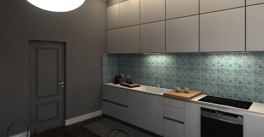 Appartamento parigino Interior Design Render