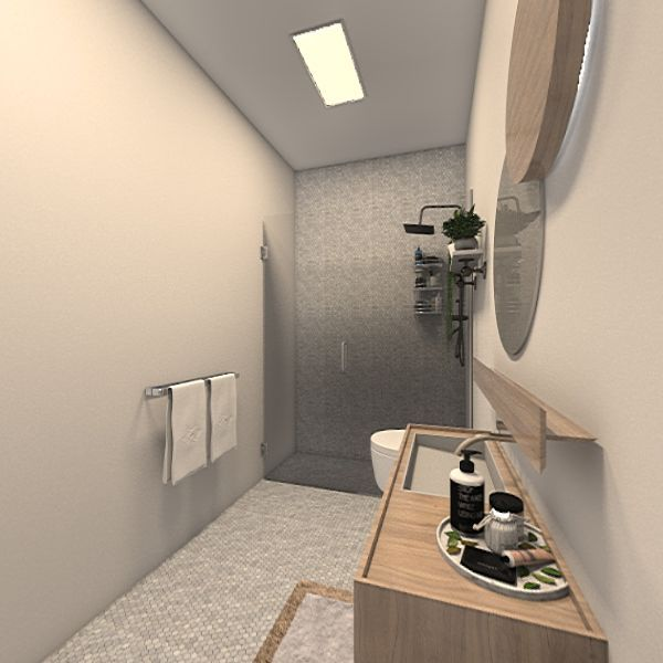 Home V wc 1 Interior Design Render