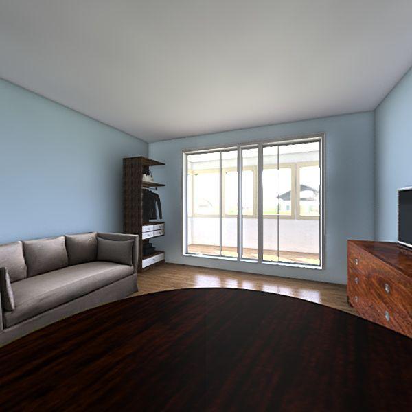 ML Flat Interior Design Render