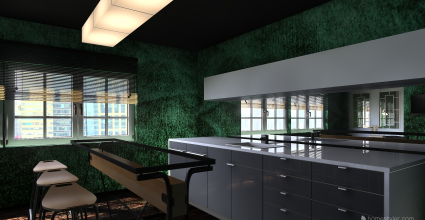 Cool house. MB edition Interior Design Render