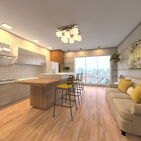 Minimal House  Interior Design Render