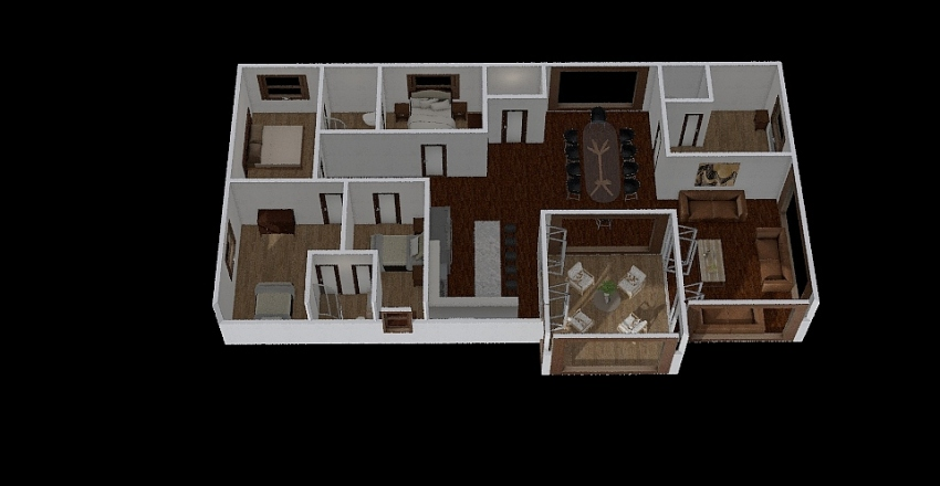 caimito  Interior Design Render
