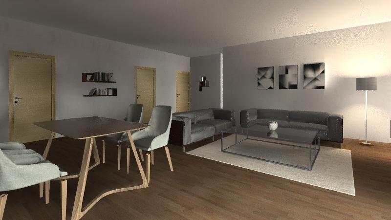 ALEJANDRA PUCHALT Interior Design Render