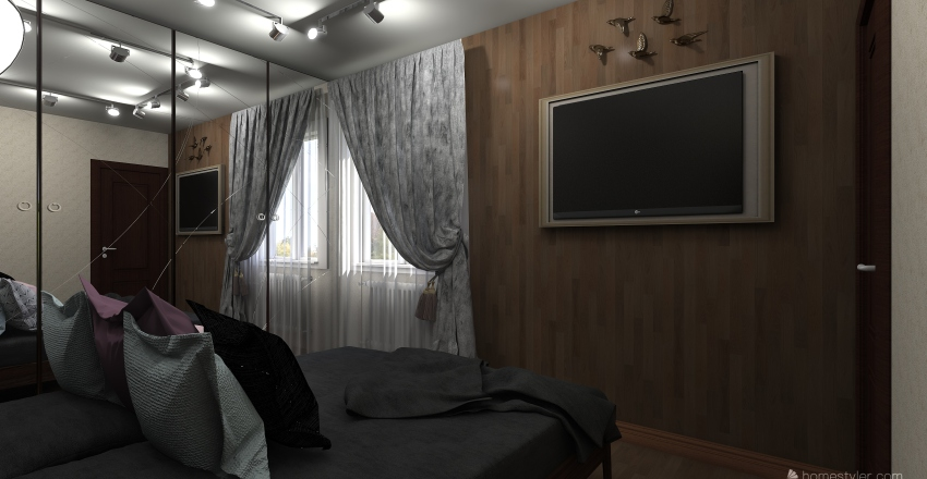 ШАЛЕ. Елена Interior Design Render