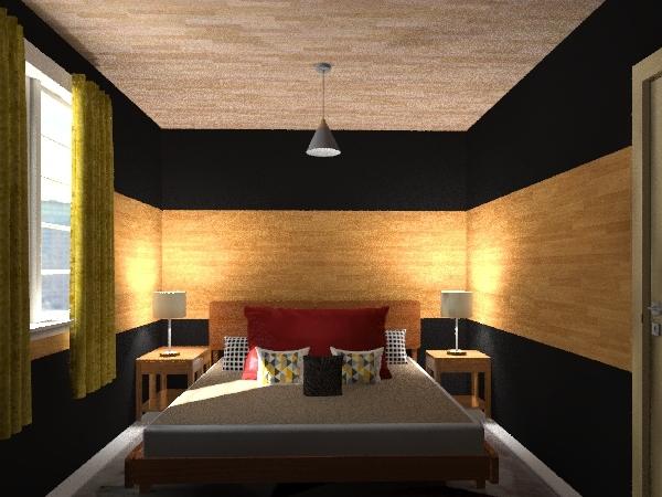 casa de familia Interior Design Render