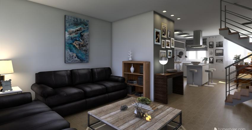 víctor Interior Design Render