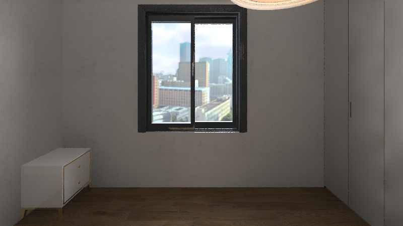 London 2 Bed flat Interior Design Render