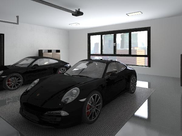 Floor Plan 17-2603 Interior Design Render