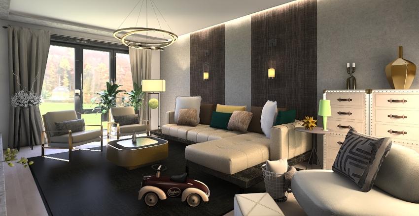 Locuinta casa Cluj Interior Design Render