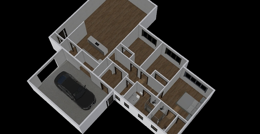 Glenorchy 3 Interior Design Render