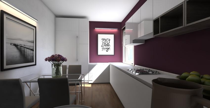 Via A.Robino 89/5 sc.A Interior Design Render