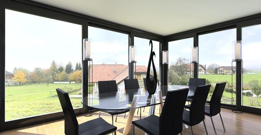 grand house  Interior Design Render