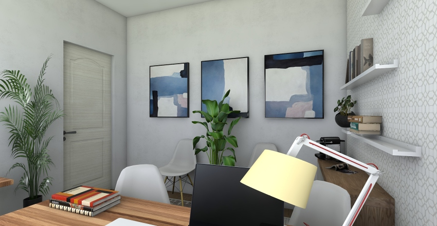 Andréia Escri Interior Design Render