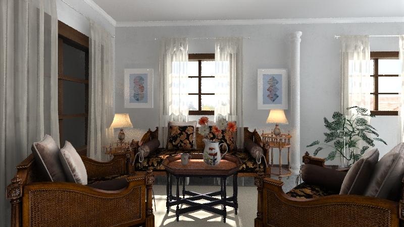 mi trabajo de diseno de interiores Interior Design Render