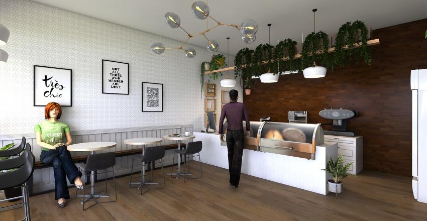 Empório Interior Design Render