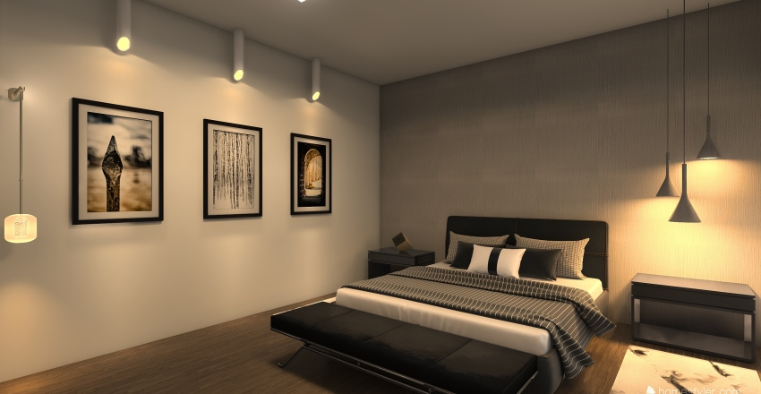 Habitación1 Interior Design Render