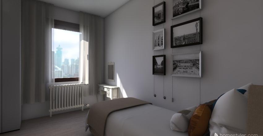 la mia camera ideale Interior Design Render