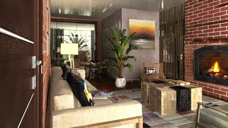 rustico Interior Design Render