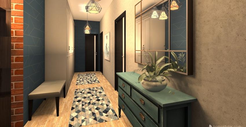 PATRIOTÓW 108   Interior Design Render