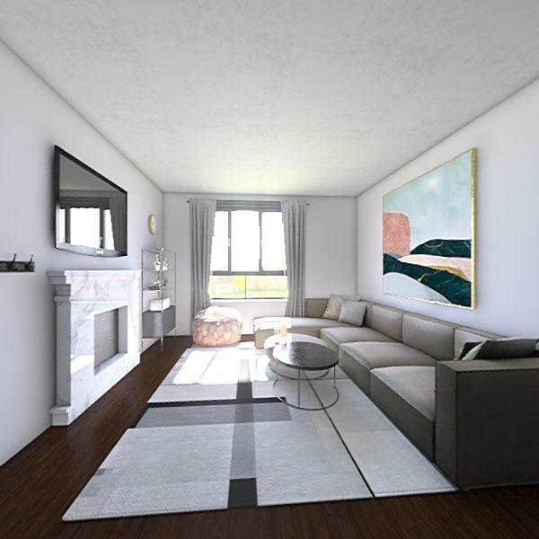 mix modern apartment Interior Design Render