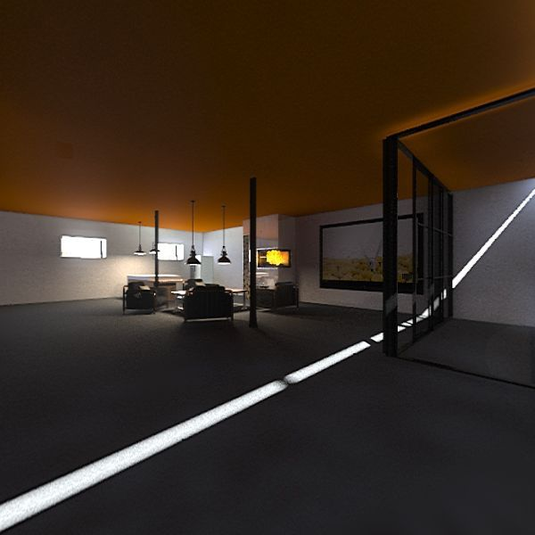 sótano Interior Design Render