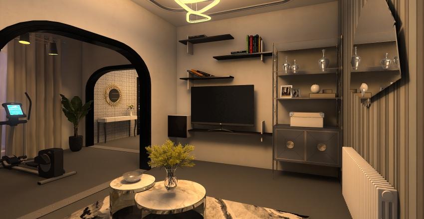 My house Interior Design Render