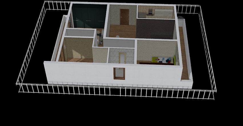ΣΠΙΤΑΚΙ 1 Interior Design Render