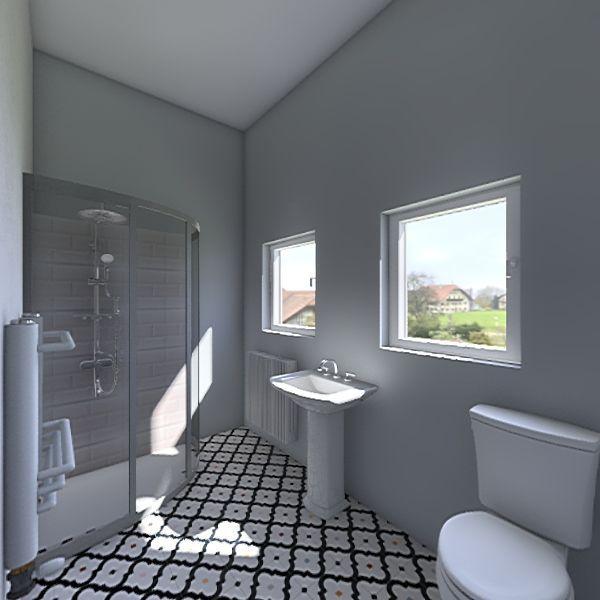 Shared Bathroom Bray Interior Design Render
