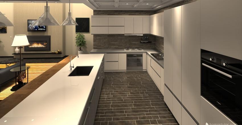 Cobertura Interior Design Render