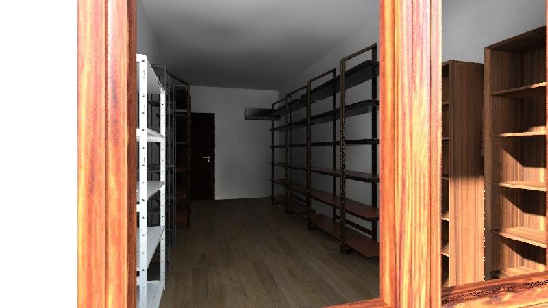 David´s 2nd House Interior Design Render