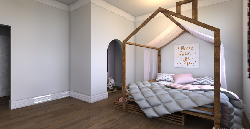The house! Interior Design Render