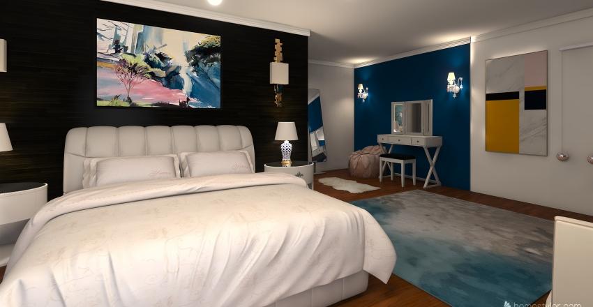 flat Interior Design Render