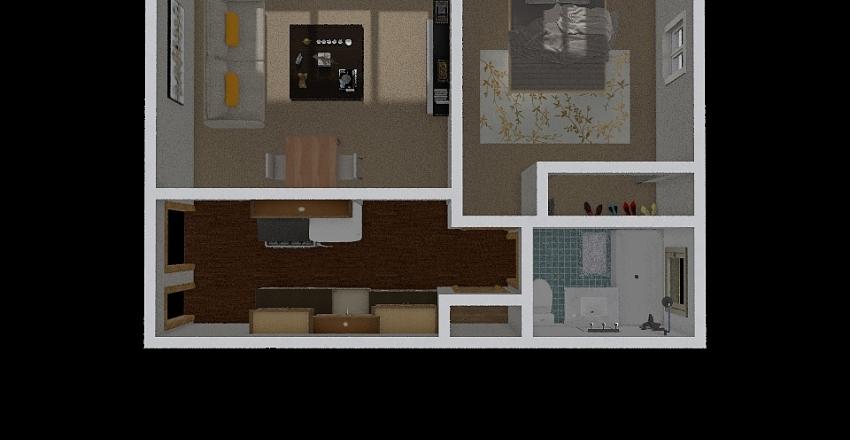 808 Interior Design Render