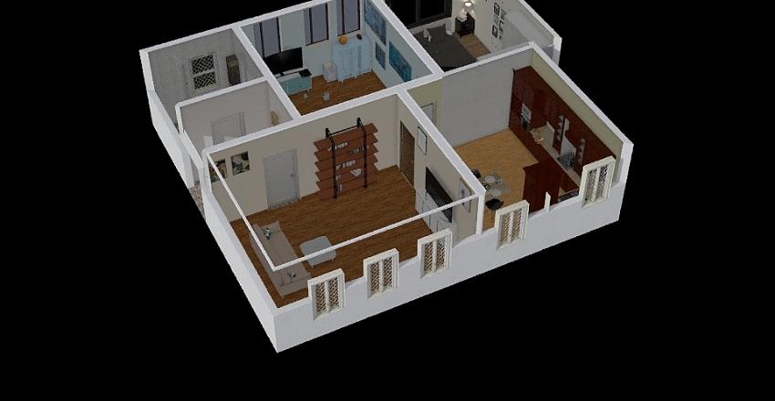 giampi e sofy Interior Design Render