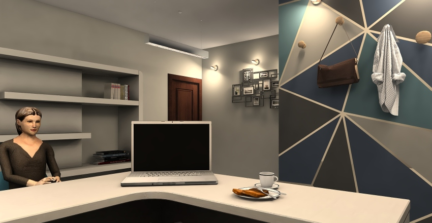 Doctor Office Interior Design Render
