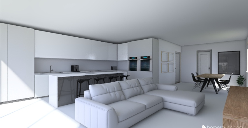 Sutton ext kitchen only Interior Design Render