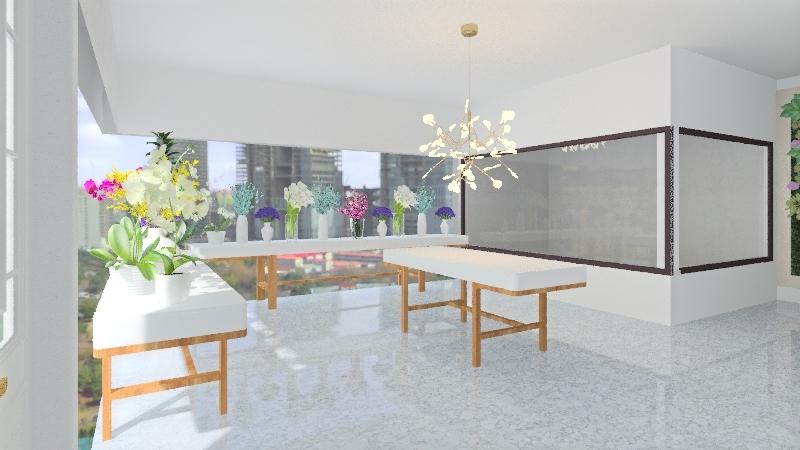 Bouquet Boheme store Interior Design Render