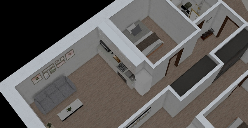 Stružnice 2np-2 Interior Design Render