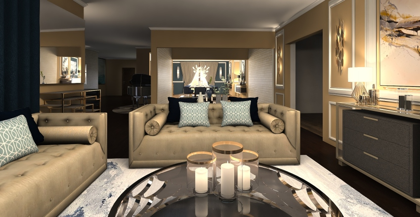 1525 Interior Design Render