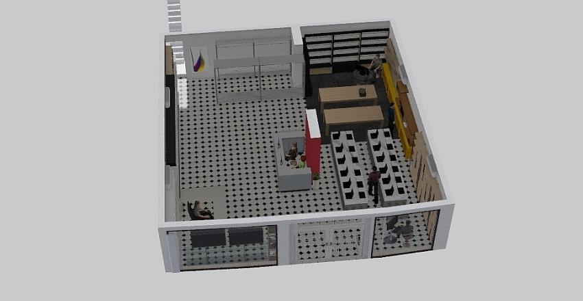 Template244 Interior Design Render
